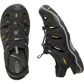 Keen Rialto Sandals Men Black/Gargoyle